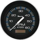 Faria Coral Tachometer with Hourmeter 6000 Rpm Gas Inboard & I/O