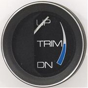 Faria Coral Trim Gauge, Mercury, Mariner, Mercruiser, Volvo DP, & Yamaha ´01 & newer