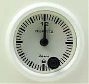 Faria Dress White Clock - quartz analog