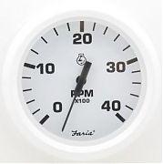 Faria Dress White Tach 4000 Diesel, Mag Pickup