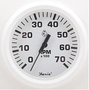 Faria Dress White Tach 7000 universal for all outboard