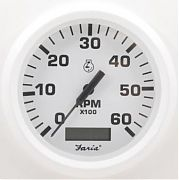 Faria Dress White Tach/Hm 6000 gas inboard