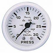 Faria Dress White Water Press Gauge Kit 30 PSI