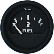 Faria Euro Fuel Level Gauge E-1/2-F