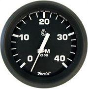Faria Euro Tach 4000 Diesel Mech Take-Off & Var Ratio Alt