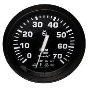 Faria Euro Tachometer 7000 RPM with Suzuki Monitor Gas Suzuki Outboard