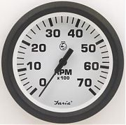 Faria Euro White Tach 7000 universal for all outboard