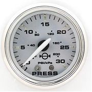 Faria Kronos Water Press Gauge Kit  30 Psi