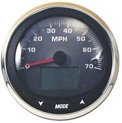 "Faria MGS023 5"" Grey Fade Speedometer 70 Mph Depth Sounder MG3000"