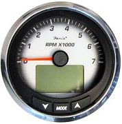 "Faria MGT017 4"" Black Fade Tachometer 7000 RPM NMEA 2000 MG3000"