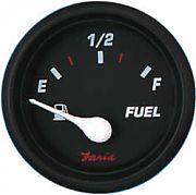 Faria Professional Red Fuel Level Gauge E-1/2/F