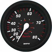 Faria Professional Red Speedo 80 MPH