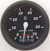 Faria Professional Red Tach/Sys Check 7000 RPM