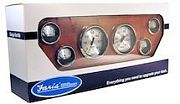 Faria Spun Silver 6 Gauge Boxed Set Gas Inboard and I/O