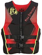 Full Throttle PFD Men Rapd Dry Flex B Red 3X