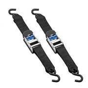 "Fulton 2060566 Light Transom Cambuckle Tie Downs 2"" X 24"" - Pair"