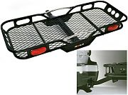 Fulton 59502 Hitch Mounted Cargo Carrier