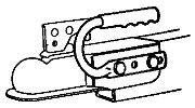 Fulton CH0701 HANDI-GRIP Coupler Handle
