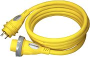 Furrion F30P50SY 30A 125V LED Powersmart Yellow Cordset - 50´