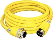 Furrion F50225SY 50A 125/250V Powersmart LED Yellow Cordset - 25´