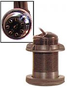 Furuno 520-PLC Plastic Thru-Hull, Low Profile, Transducer, 600W (8-Pin)
