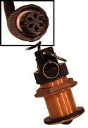Furuno ST-02MSB Bronze Thru-Hull Speed and Temp Sensor (6-Pin)