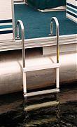 Garelick 15240 4 Step Pontoon Swim Ladder