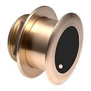 Garmin 010-11937-21 Bronze Tilted Thru-hull Transducer with Depth & Temperature (12° tilt, 8-pin)