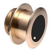 Garmin 010-11939-21 Bronze Tilted Thru-hull Transducer with Depth & Temperature (12? tilt, 8-pin)