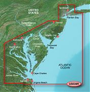 Garmin Bluechart G2 VUS038R  New York To Chesepeake