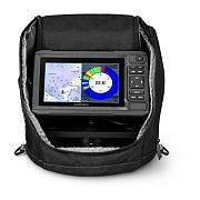 Garmin ECHOMAP73CV Ice Fishing Bundle