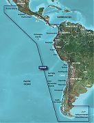 Garmin VSA002R G2 Vision South America-West Coast - Micro SD