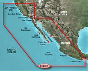 Garmin VUS021R California Mexica Bluechart G2 Vision