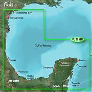 Garmin VUS032R Southern Gulf  Mexico Bluechart G2 Vision