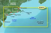 Garmin VUS511L Boston To Atlantic City Bluechart G2