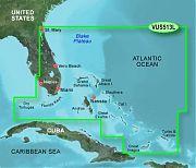 Garmin VUS513L Jacksonville To Bahamas Bluechart G2 Vision