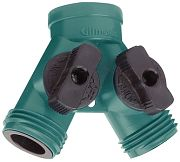 Gilmour 17HD Double Hose Shut-Off Y-Connector