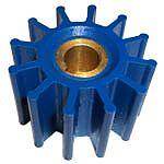 Globe 625 12 Blade Blue Run Dry Impeller