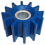 Globe 75 12 Blade Blue Run Dry Impeller