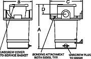 """Groco ARG-1500-S BSPP Strainer G 1 1/2"""""""