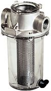 "Groco ARG1500S 1-1/2"" Stainless Steel Basket Strainer"