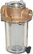 "Groco ARG755P 3/4"" Low Profile Non-Metallic Basket Strainer"