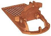 """Groco ASC1250 Bronze Slotted Hull Strainer - 1-1/4"""" Max Thru Hull"""
