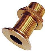 "Groco FTH1000W 1"" Bronze Flush Thru Hull Fitting"