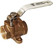 "Groco FV250 1/4"" FV Series Full Flow Fuel Valve"