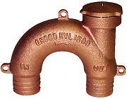 """Groco HVL1000 1"""" Bronze Vented Loop"""