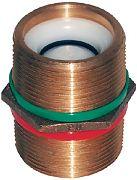 "Groco PNC-750 3/4"" Bronze Check Nipple"