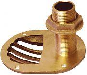 Groco STH-150-W Brz Scoop T Hull W/Nut G 1 1/2