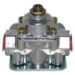 Holley 12-804 1-4 Psi Carbureted Two Port Fuel Pressure Regulator