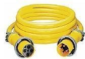 Hubbell CS50EXT4 50´ 125/250V 4 Wire Extension Cord